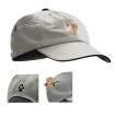 Pomeranian Baseball Cap with Embroidered and zippered pocket unique gift item