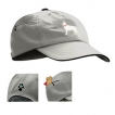 German Shepherd White Baseball Cap with Embroidered and zippered pocket unique gift item