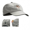 Papillon Baseball Cap with Embroidered and zippered pocket unique gift item