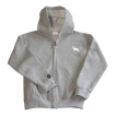 German Shepherd White Youth Full Zip Hooded Sweatshirt unique gift item