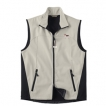 Beagle Men's High Tec Vest, Bone Zipper Pull and Embroidered image unique gift item