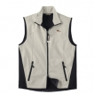 Papillon Men's High Tec Vest, Bone Zipper Pull and Embroidered image unique gift item