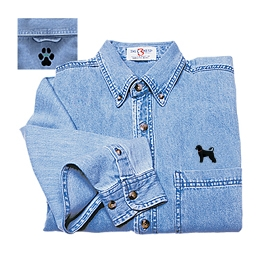 Denim Embroidered Shirts Free Embroidery Patterns