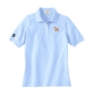 Pit Bull Embroidered Ladies Cotton Golf Shirt unique gift item