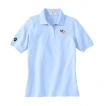 Papillon Embroidered Ladies Cotton Golf Shirt unique gift item