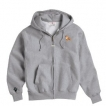 Pit Bull Men's Full Zip Hooded Sweatshirt with Embroidered & Bone Zipper Pull unique gift item