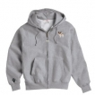 Papillon Men's Full Zip Hooded Sweatshirt with Embroidered & Bone Zipper Pull unique gift item
