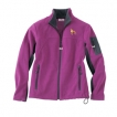 Pit Bull Ladies Soft Micro Fleece Unlined Jacket with Embroidered image, & Bone Zipper Pull unique gift item