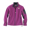 Papillon Ladies Soft Micro Fleece Unlined Jacket with Embroidered image, & Bone Zipper Pull unique gift item