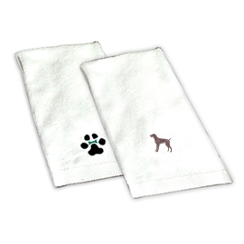 Weimaraner Hand Towel unique gift item for dog lovers