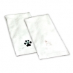 German Shepherd White Hand Towel unique gift item