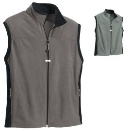 Weimaraner Men's Microfleece Vest unique gift item for dog lovers
