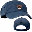 Papillon Blue Baseball Cap with Profile unique gift item