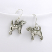 Beagle Sterling Silver Earrings unique gift item