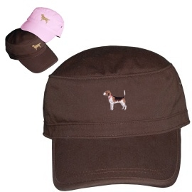 Beagle Cotton Corps Cap with Embroidered unique gift item for dog lovers