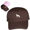 German Shepherd White Cotton Corps Cap with Embroidered unique gift item