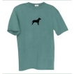 Pit Bull Men's Relaxed Fit Tee Shirt with Silkscreened Silhouette unique gift item