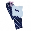 German Shepherd White Ladies Polka Dot PJs unique gift item