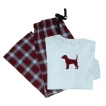 Beagle Ladies Flannel Pajamas unique gift item