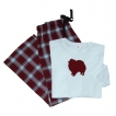 Pomeranian Ladies Flannel Pajamas unique gift item