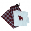Papillon Ladies Flannel Pajamas unique gift item