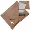 German Shepherd White Micro Mink Sherpa Throw unique gift item