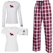 1WL-Sealyham Terrier Youth and Ladies Flannel and Cotton Kick Back Wear.