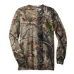 1SN-Men's Realtree® Long Sleeve Explorer T-Shirt with Pocket imprinted with Your Breed