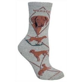 4AL-Vizsla Cotton Ladies Socks
