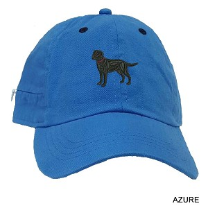 3C-Cairn Terrier Baseball Cap Embroidered Full Logo and zippered pocket