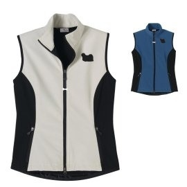 2FL-Puli Ladies' High Tec Vest, Bone Zipper Pull and Embroidered image