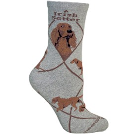 4AL-Irish Setter Cotton Ladies Socks