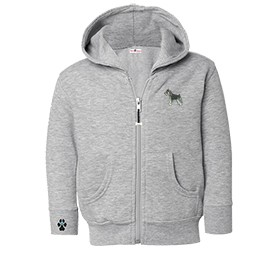 2CY-Schnauzer Toddler Hooded Full-Zip