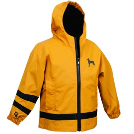 2PY-Doberman Toddler's  Englander Rain Jacket