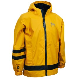 2PY-Labrador Yellow Children's  Englander Rain Jacket
