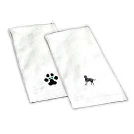 8H-Hand Towel embroidered with your breed.
