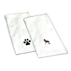 8H-German Shepherd Hand Towel
