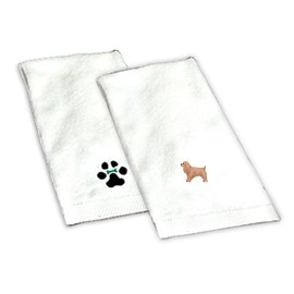 8H-Cocker Spaniel Buff Hand Towel