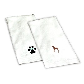 8H-German Short-Haired Pointer Hand Towel