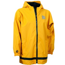 2PY-Bichon Frise Youth New Englander Rain Jacket