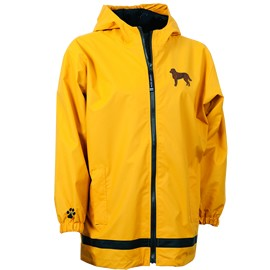 2PY-Chesapeake Bay Retriever Youth New Englander Rain Jacket