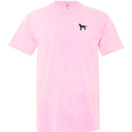 1PY-Youth pigmented dyed t-shirt embroidered with your breed.