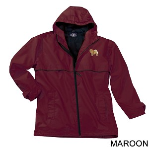 2PM-Chow Chow Men's New Englander Rain Jacket