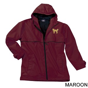2PM-Goldendoodle Men's New Englander Rain Jacket