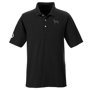 1PM-Men's DRYTEC20™ Performance Polo embroidered with Your Breed