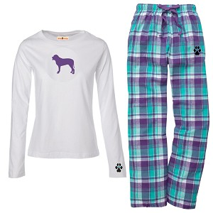 1WL-Mastiff Youth and Ladies Flannel and Cotton Kick Back Wear.