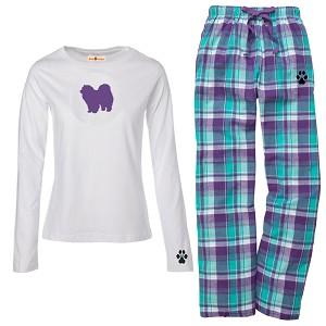 1WL-Chow Chow Youth and Ladies Flannel and Cotton Kick Back Wear.