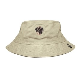 3C-Mastiff Bucket with embroidered full profile
