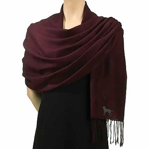 3B-Ladies Wool Pashminas with Embroidered profile.