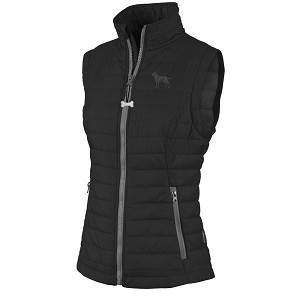 2FL- Ladies' Radius Quilted Vest with Embroidered image.